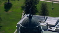 State Capitol  - Aerial View - Montana, Lewis and Clark County, United States video