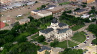 State Capitol  - Aerial View - South Dakota, Hughes County, United States video