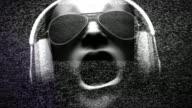 DJ Static + Headphones V7 (HD Loop) video