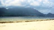 Static view of Eden Island Mahe Seychelles video