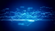 Statistics grid - blue video
