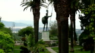 statue of achilles video