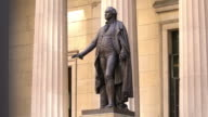 Statue of George Washington video