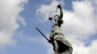 Statue of Justitia video