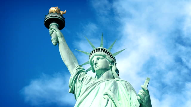 Statue Of Liberty In The Sun video