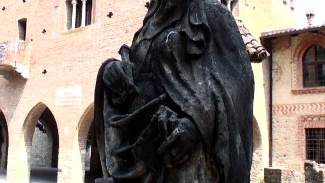 Statue of Madonna, mother of Jesus Christ video