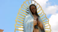 Statue of the Virgin Guadalupe video