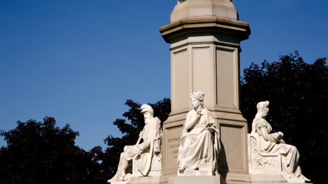 Statue where Lincoln gave the Gettysburg Address video