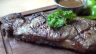 Steak beef video
