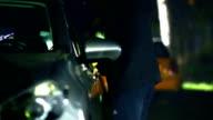 Stealing a car. video