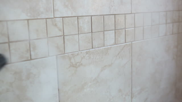 Steam Cleaning Bathroom Tile Wall video