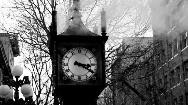 Steam clock. video