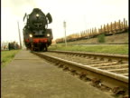 steam engine accelerating video