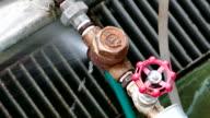 steam leeking out of valve video