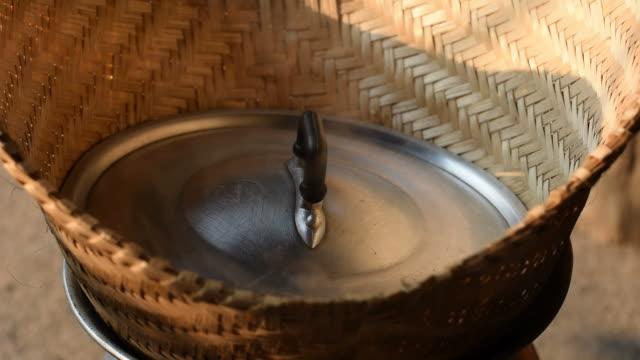steam sticky rice video