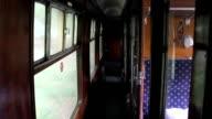 Steam Train Carriage video