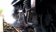 steam  & train wheels video