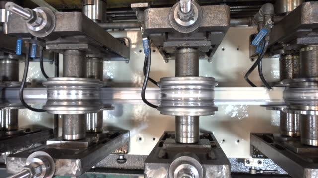 Steel bending machine video