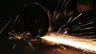 Steel gets cut video