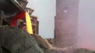 Steel Industry molten metal. video