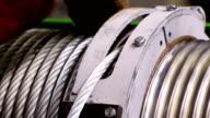 steel rope, hawser video