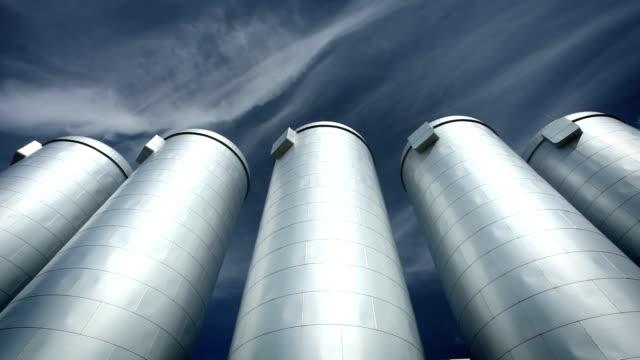 Steel vessels - time lapse video
