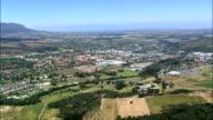 Stellenbosch  - Aerial View - Western Cape,  Cape Winelands District Municipality,  Stellenbosch,  South Africa video
