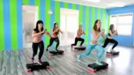 Step aerobic video