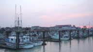 Steveston Docks Dawn Departure video