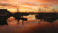 Steveston Fisherman's Wharf Sunrise video