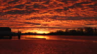 Steveston Harbor Sunrise video