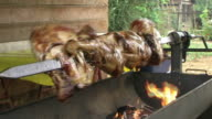Sticked Barbeque video