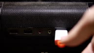 Sticking USB flesh memory video