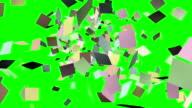 StickyFlyingUpOnGreen video