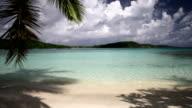 still video of Hawksnest Bay, St.John, US Virgin Islands video
