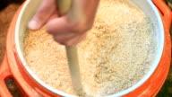 Stirring the Mash - Brewing Beer video