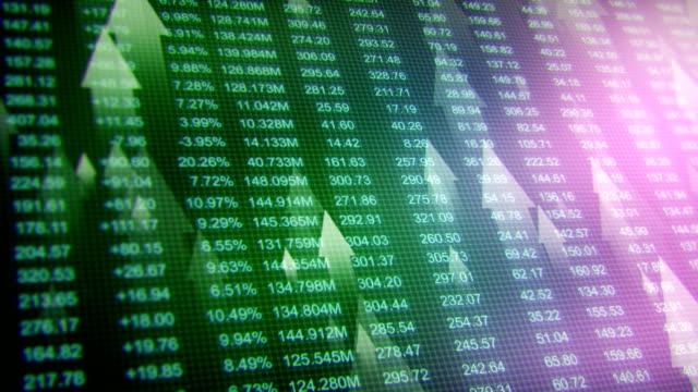 Stock Exchange bg video