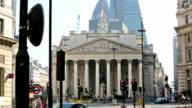 Stock exchange City of London. video