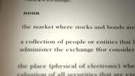 Stock Exchange Definition video