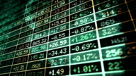 Stock exchange market concept video