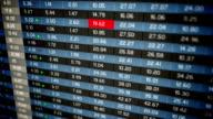 Stock Exchange Market Loop video