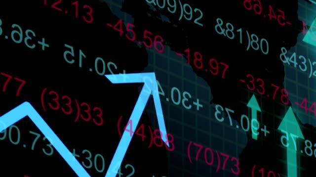 stock maeket data video