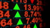 Stock Market Animation - HD, Loop video