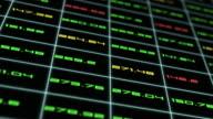 stock market data animation video