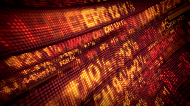 Stock Market Data Tickers video