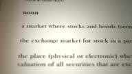 Stock Market Definition video