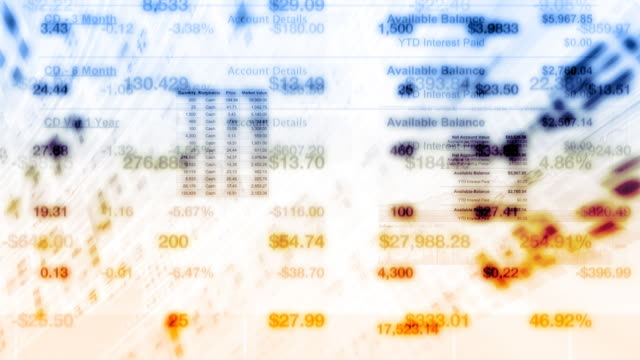 Stock Market Financial Data video