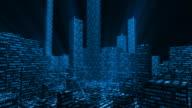 Stock Market Metropolis video