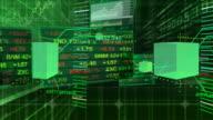 Stock Market Tickers - Digital Interface Data video