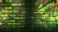 Stock Market Tickers Numbers HD video